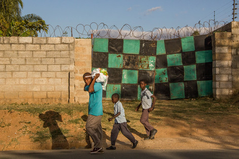Checkered Gate: Father and Sons
