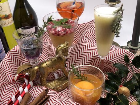 Prosecco-Cocktails für die Feiertage