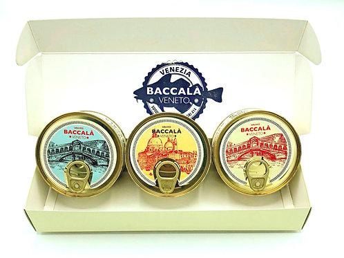 Baccalà Mantecato im Geschenkskarton