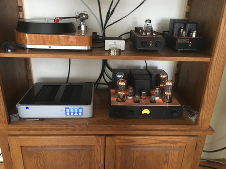 Icon Audio Tube Amplifiers and Graham Slee Phono Stage and Headphone Amplifiers