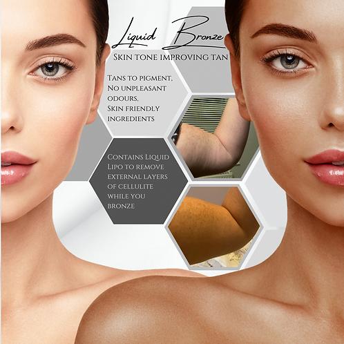 Liquid Lipo Bronzed (tanning mist) 2oz single use