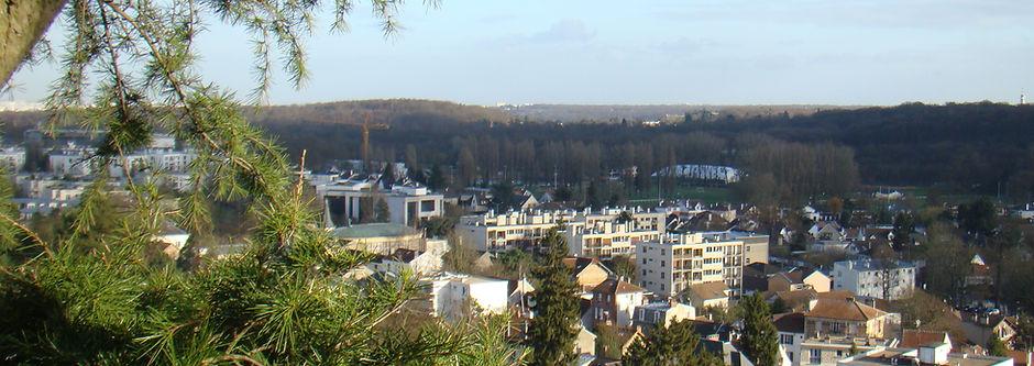 Vue de la ville de Vaucresson