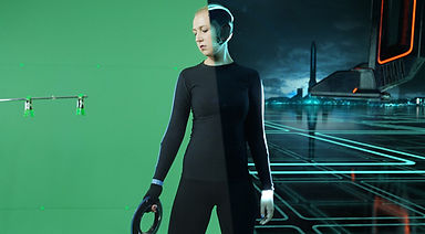 Tron-Legacy-inspired-End-of-Line-Project