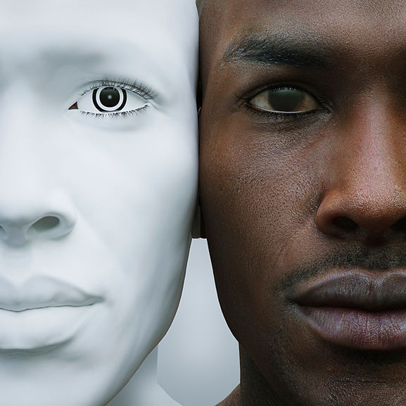 FBNK - Web Art - White Face Black Face.j