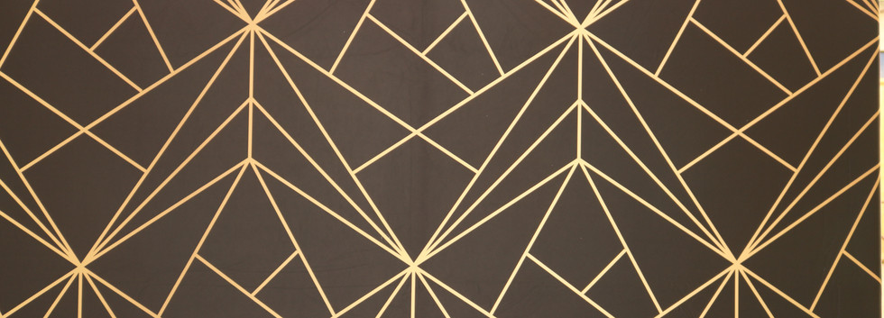 Black & Gold Geometric