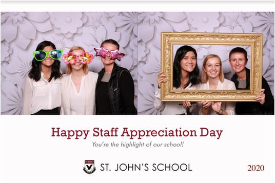 St Johns Staff Appreciation