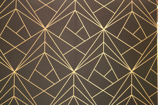 Black & Gold Geometric