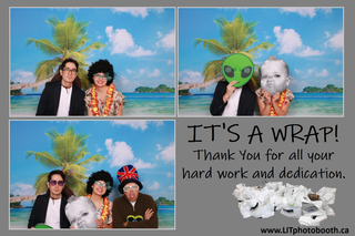 Tropical Paradise Office Party