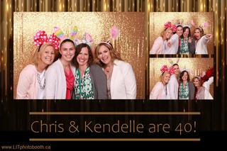 Gold Sequin Birthday