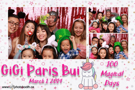 Gigi Paris Bui 100 magical Days