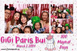 Gigi Paris Bui 100 magical Days
