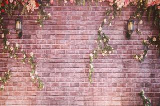 Rustic Floral Brick
