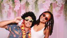 First Birthday Party Photo Booth
