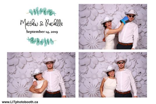 Matthew & Rachelle September 14, 2019