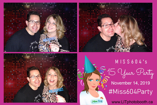 Miss 604 - 15 Year Party