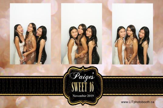 Paige's Sweet 16