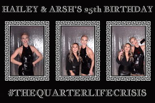 Silver Sequin Birthday