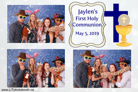 Jaylen's First Holy Communion
