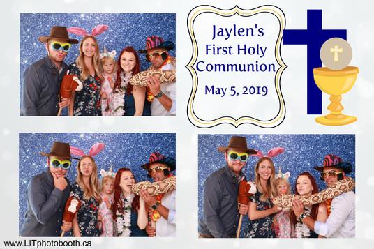 Jaylen's First Holy Communion