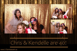 Chris & Kendelle Are 40!