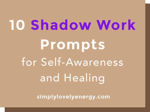 10 Shadow Work Prompts for Self-Awareness and Healing