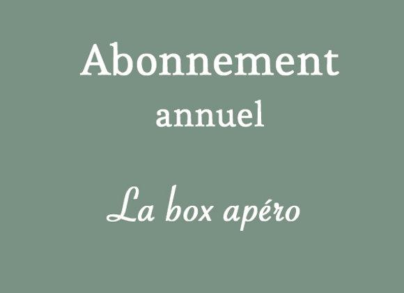 Box apéro (annuel)