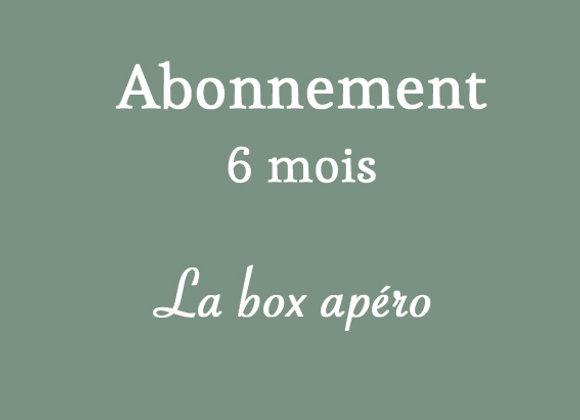 Box apéro (6 mois)