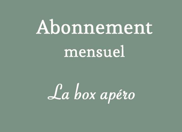 Box apéro (mensuel)
