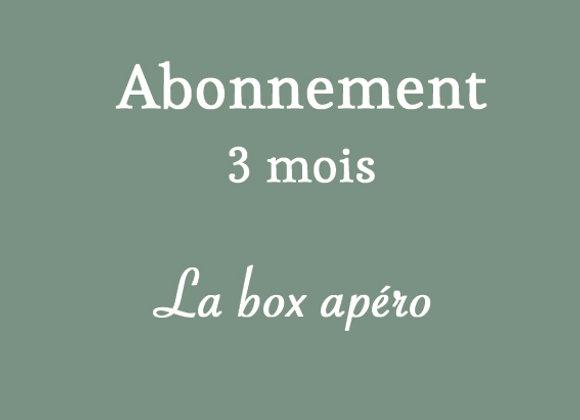 Box apéro (3 mois)