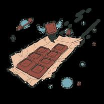 Verbstore, chocolate