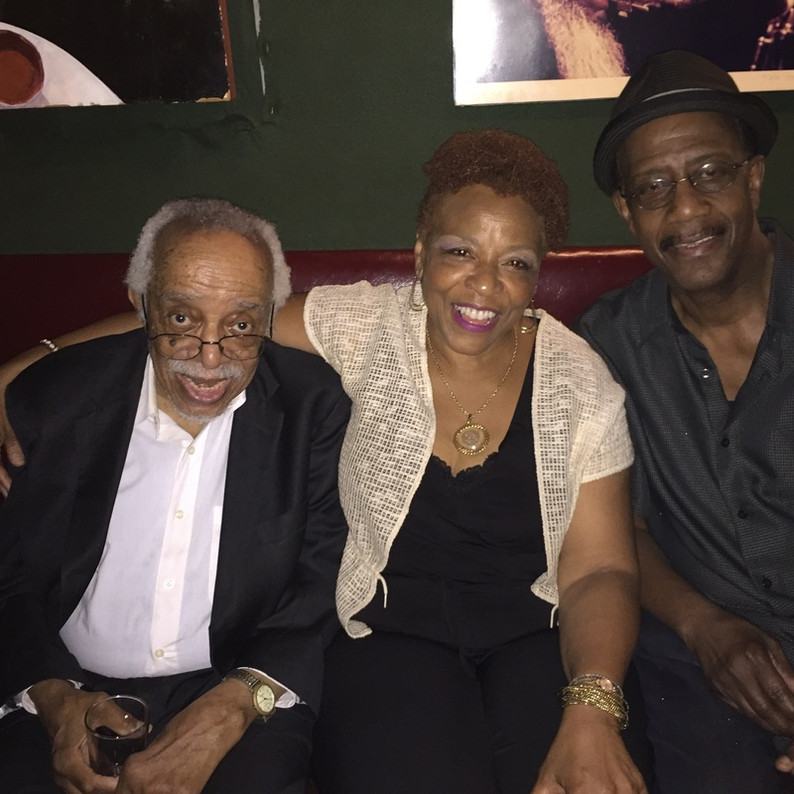 With Barry Harris and Patience Higgins at the Village Vanguard 7/2016