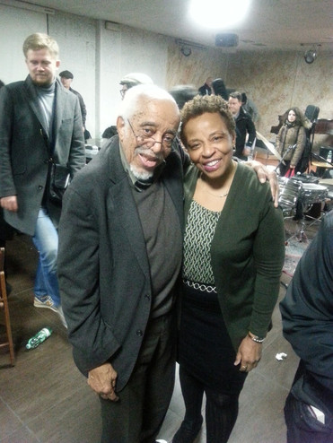 With Barry Harris @ his workshop in Rome 3/2016