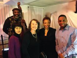 Launch Lute Enterprises and Lucille Dandridge with Les Harper (b), Daniela Gioseffi (v), John Polite (t) 10/24/15