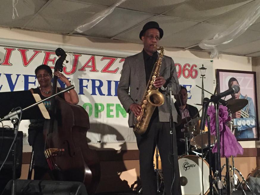 My band at Jazz966 5/12/17
