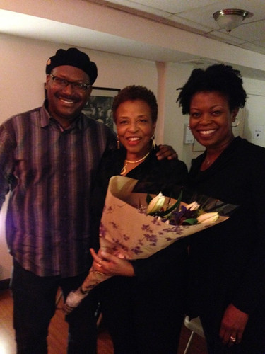 """Family at Lute Enterprises launch 10/24/15 'The Drawing Room', Brooklyn. """"We truly enjoyed being present for your inaugural launch on this next chapter in your wonderful life""""."""