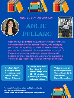 Onling - BOOK AN AUTHOR VISIT WITH ANGIE