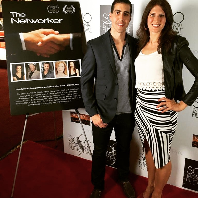 "World premiere of ""The Networker"" at Soho Int'l Film Fest"