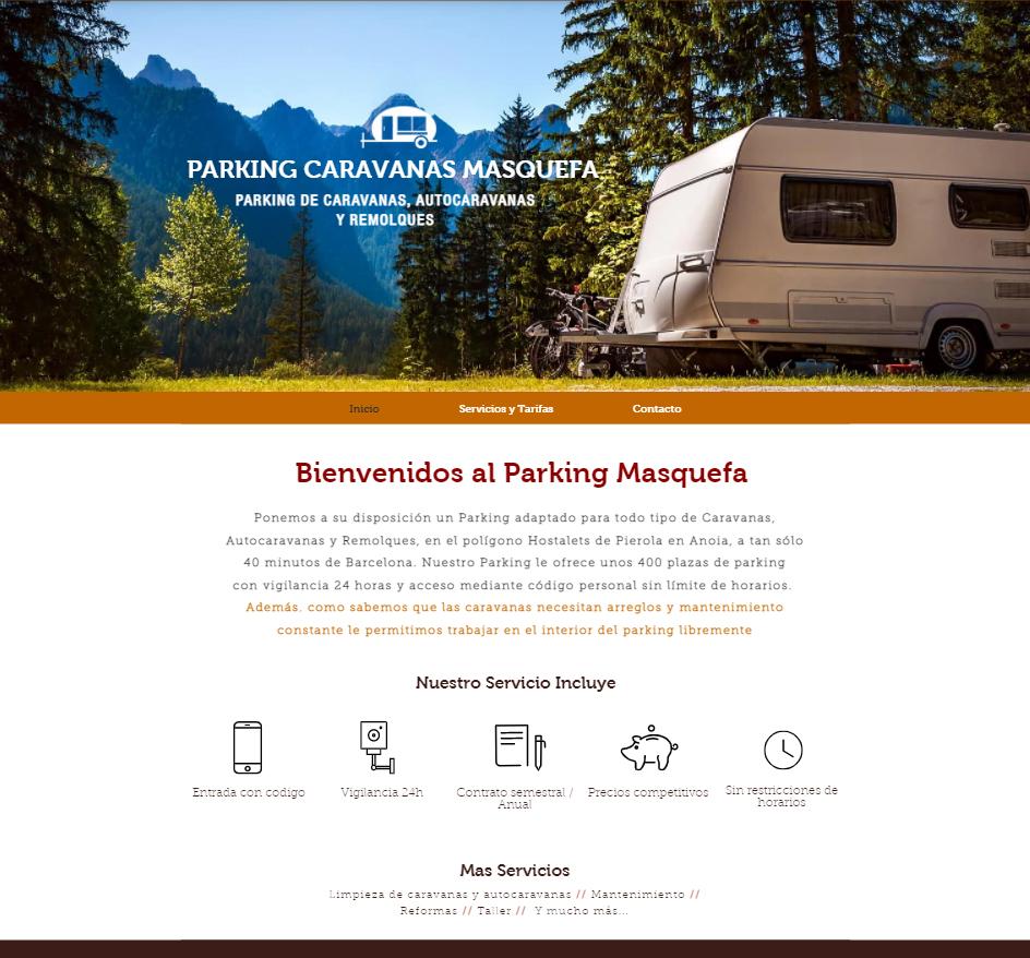 Parking Caravanas Masquefa