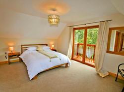 Torcastle Lodge - Master Bedroom