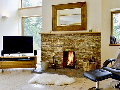 Torcastle Lodge - Living Room, Banavie, Fort William