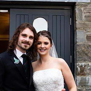 Laura & Cameron  Kilkea Castle
