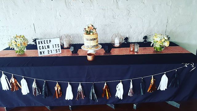 Birthday at Highfield Estate Function venue #birthday _#glutenfreebread _#colour of earth _#wedding