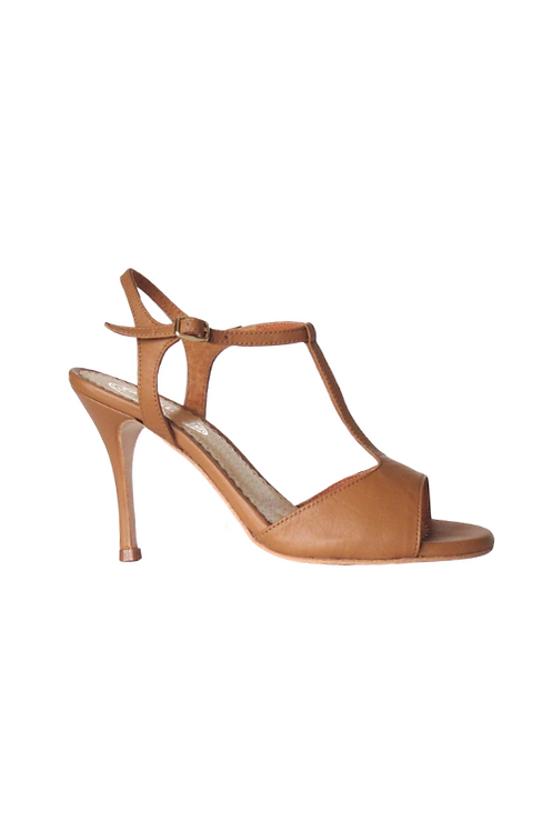 Tango Sandals Vanina, camel leather