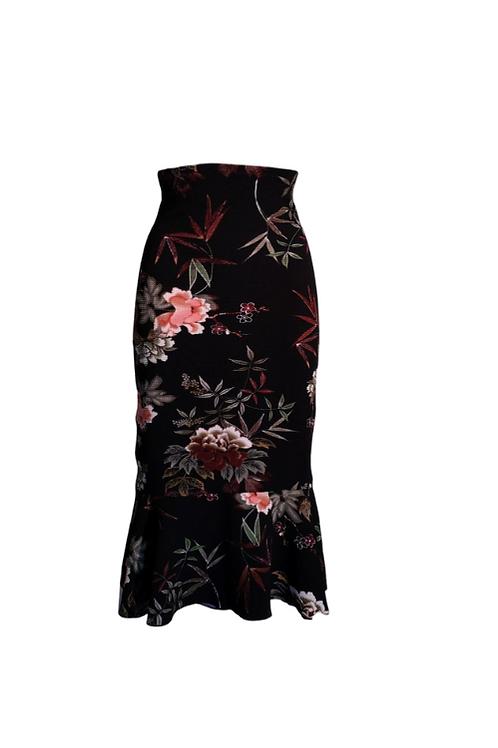 Skirt Romantica in Piquet