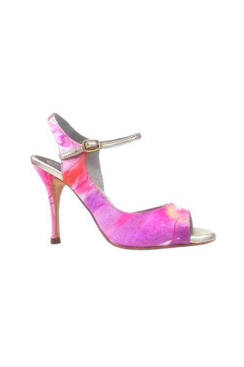 Tango Leike Dancing Sandal multicolor satin rose gold