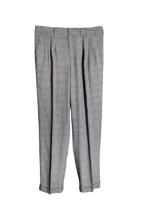 Gray tango trousers for men