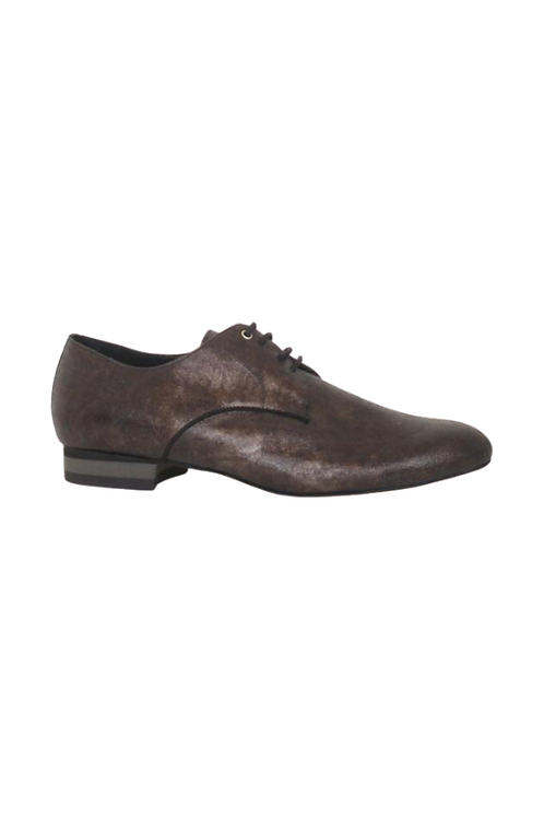 Men's tango shoes Tanguero, bronze/gold suede