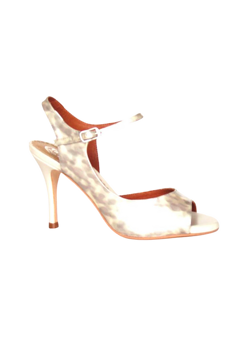 Tango Leike Dancing Sandal beige grey leather