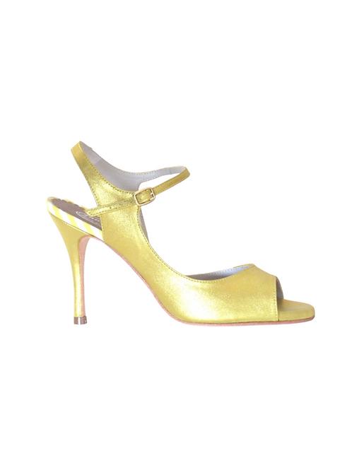 Tango Sandal soft yellow leather