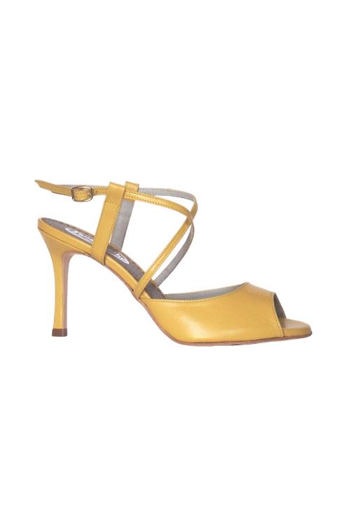 Tango Sandals Maite, yellow leather